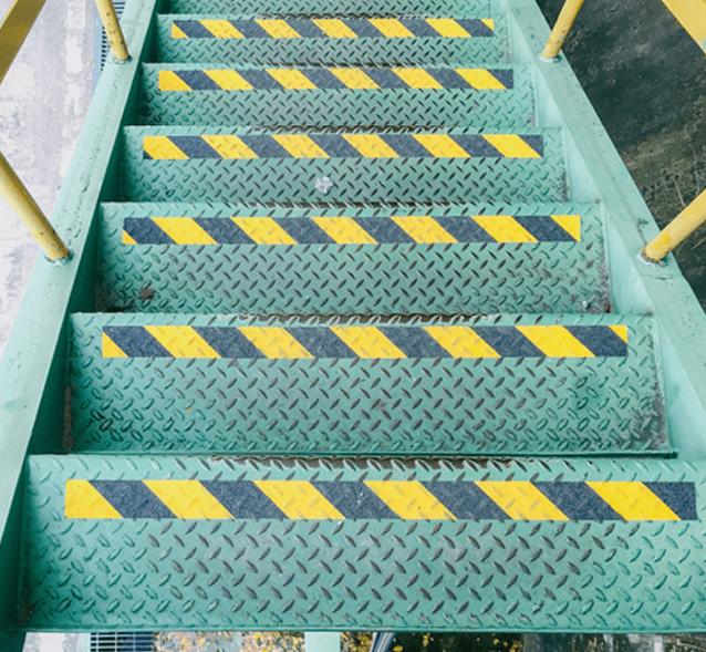 anti slip flooring for stairs in Dubai