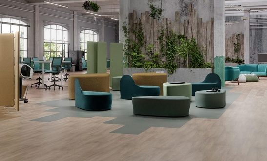 iD Square - LVT Flooring