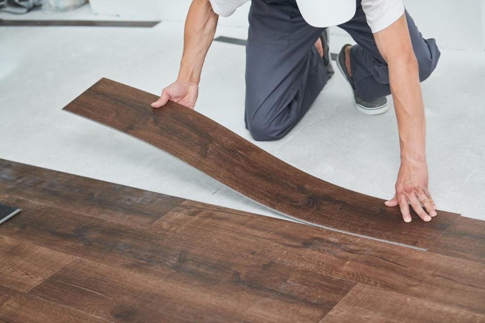 vinyl flooring installation service in Dubai