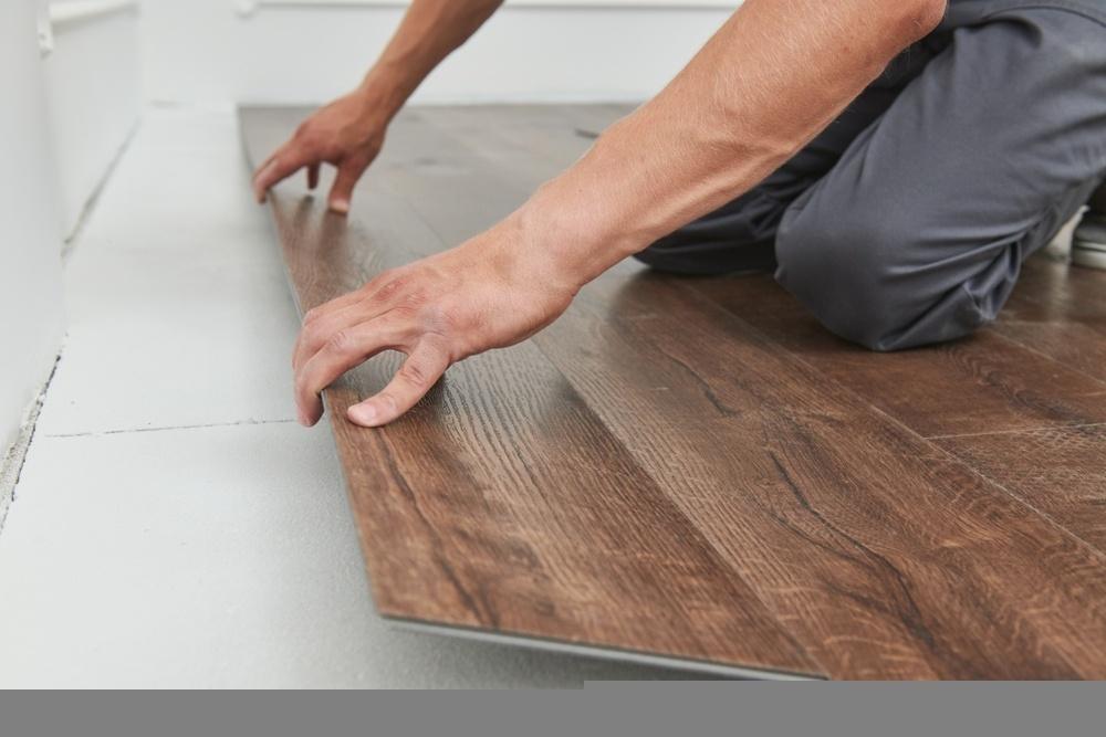 vinyl tile flooring installation