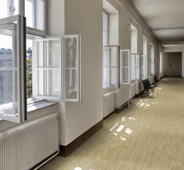 Acoustic waterproof flooring