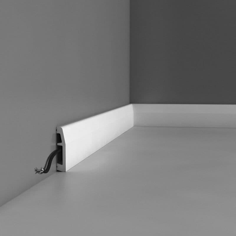 Buy White-PVC Skirting Boards Dubai