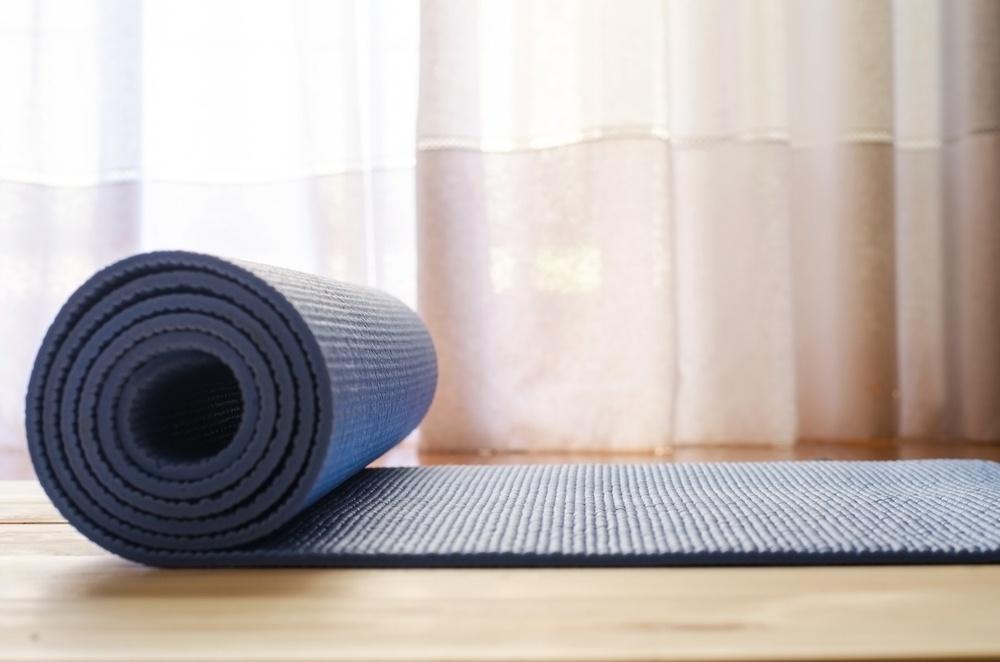 blue yoga mat dubai