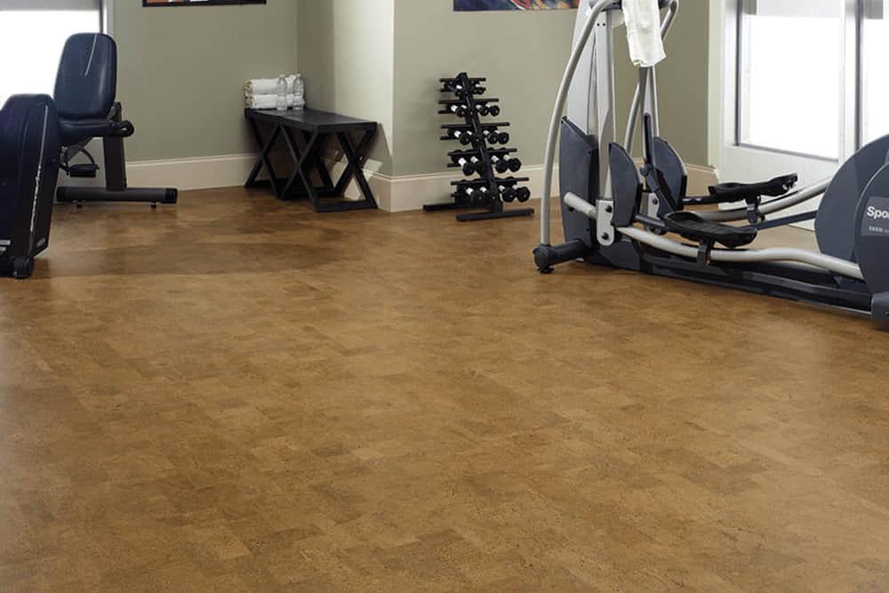 cork gym flooring Dubai