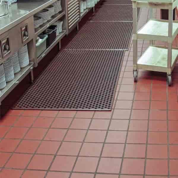 restaurant kitchen rubber mat