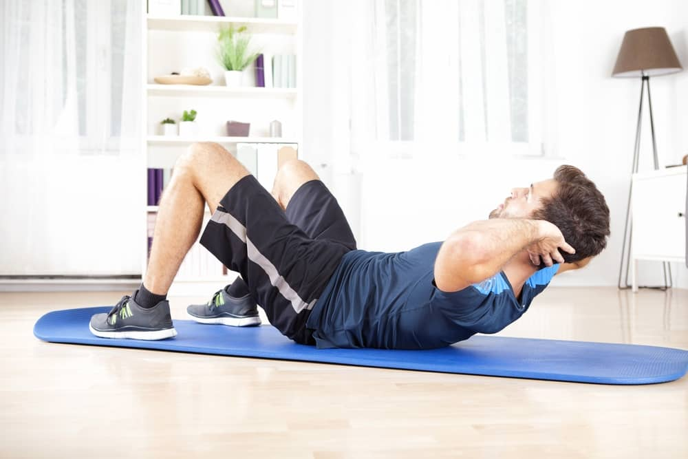 thick exercise mats