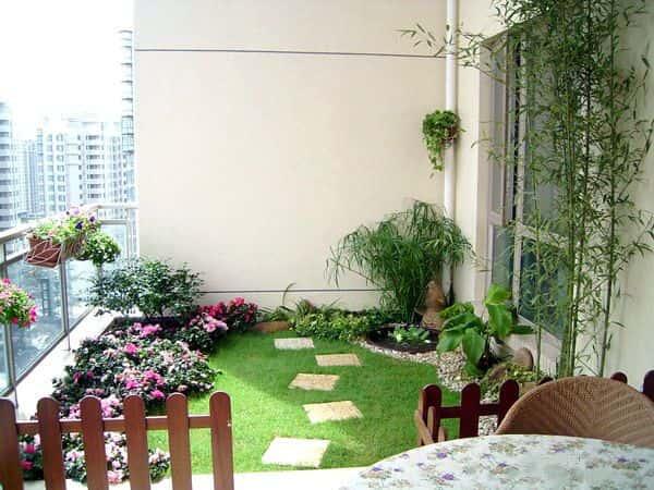 balcony garden dubai