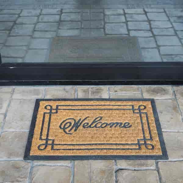 outdoor rubber mat tiles