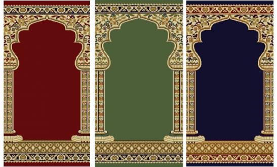 Kashmir Mehrab Carpet Dubai