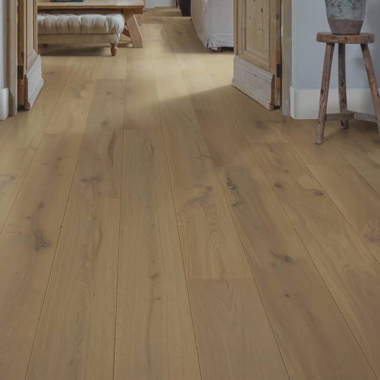 Semi solid wooden flooring in UAE