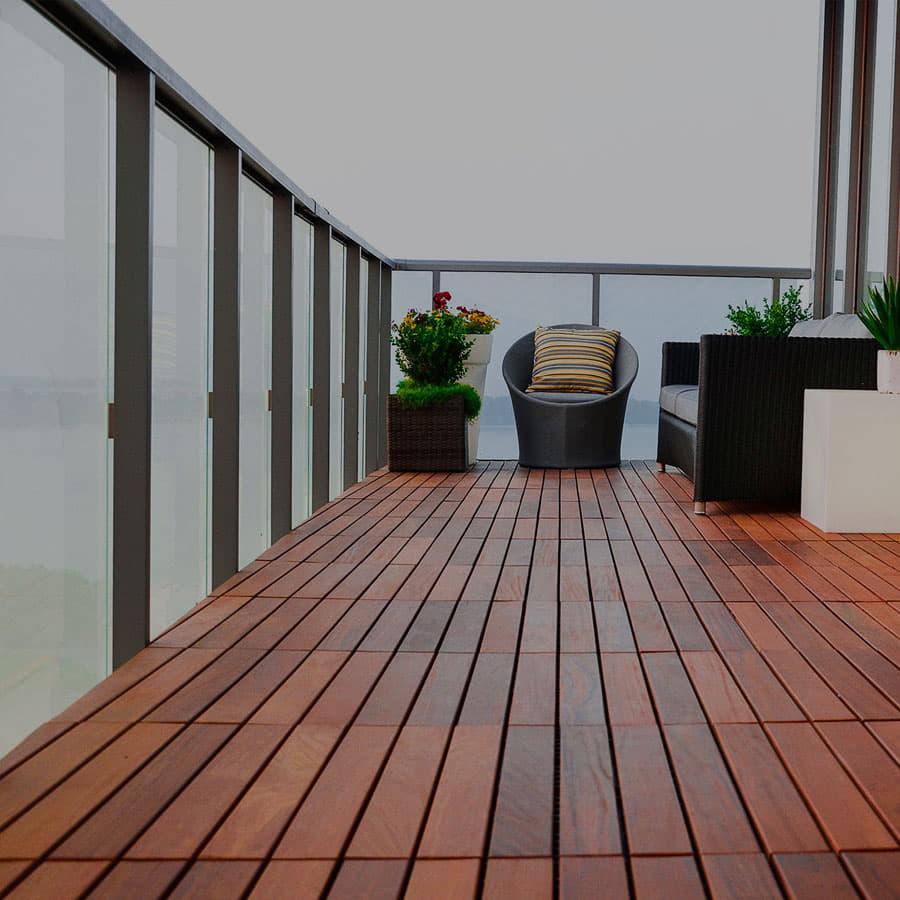 balcony deck flooring in Dubai