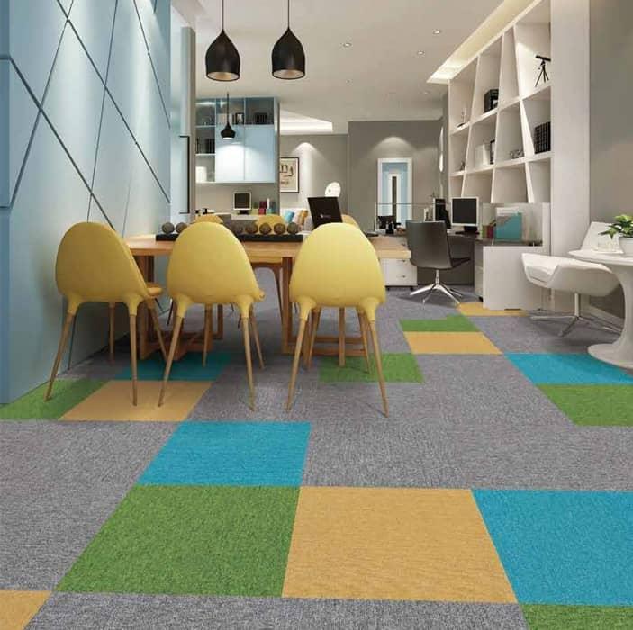 Queen plus carpet tiles
