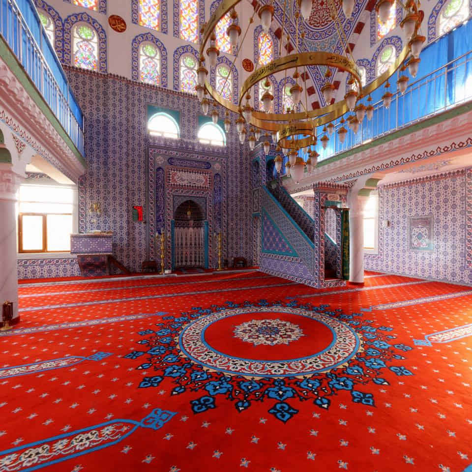 high quality mosque carpet in Dubai, UAE