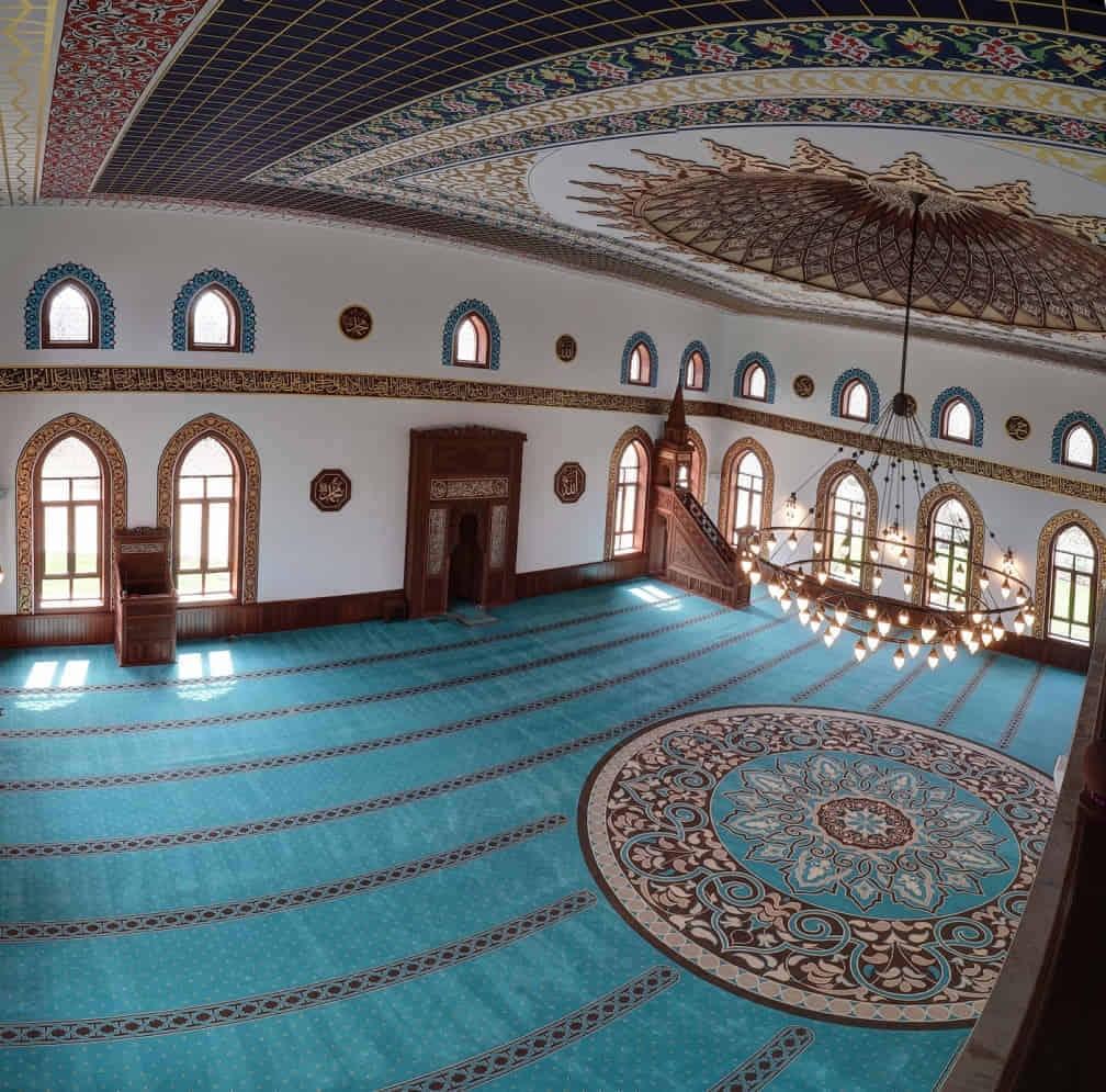 mosque Dubai carpet