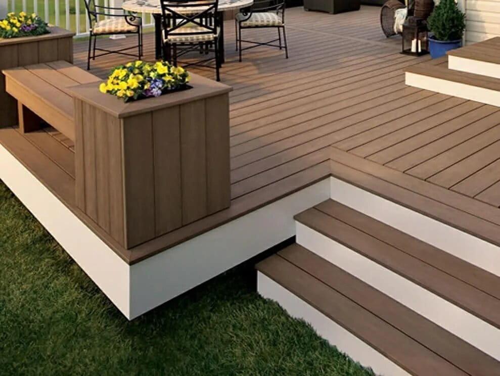 outdoor wood deck flooring