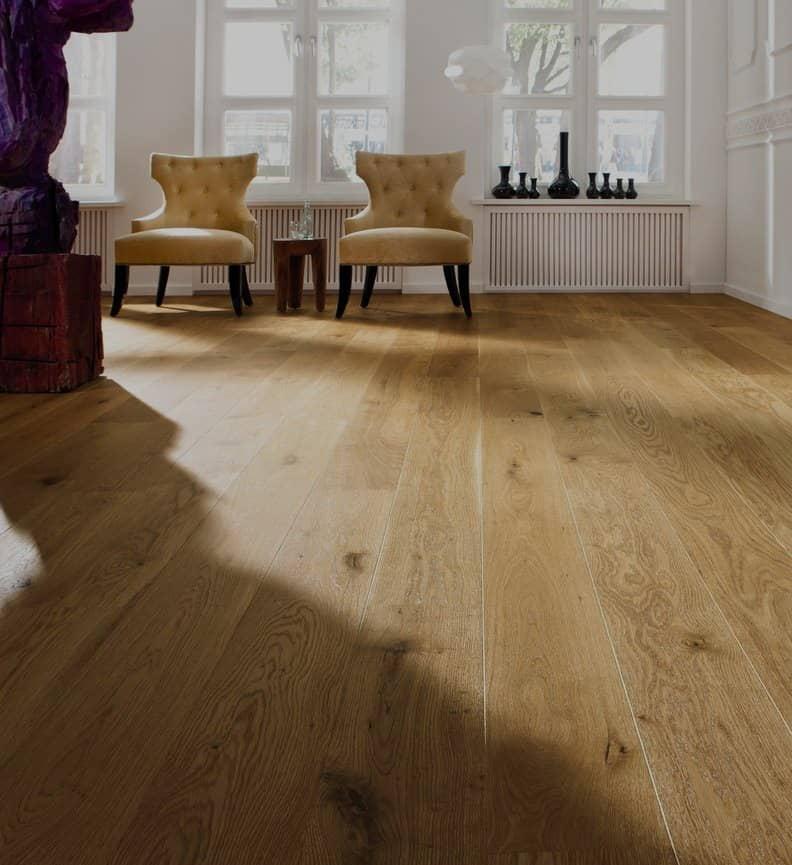 semi solid oak flooring