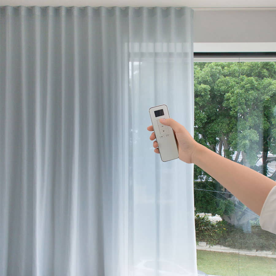 Remote Control Motorized Curtains