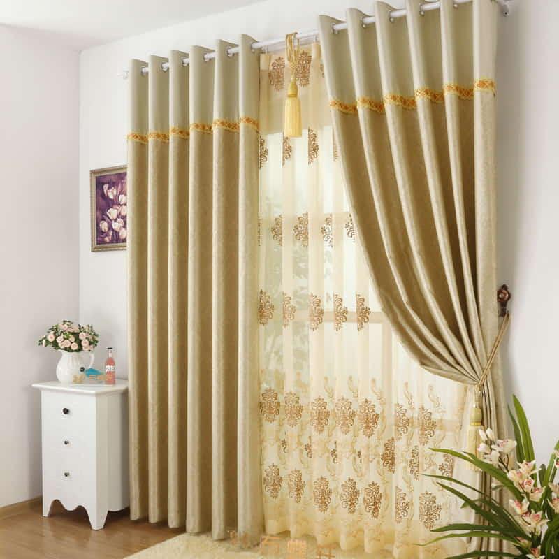 custom made curtains Dubai